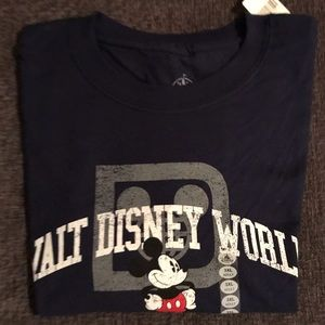 Disney Parks Walt Disney World Navy Blue T-Shirt